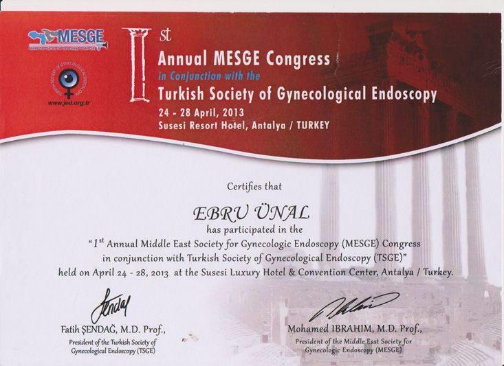1.Annual Mesge Congress