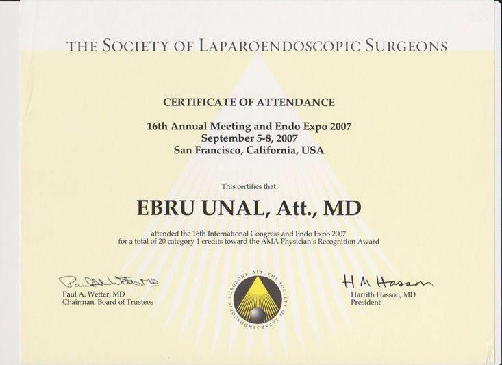 The Society of Laparoendoscopic Surgeon – California