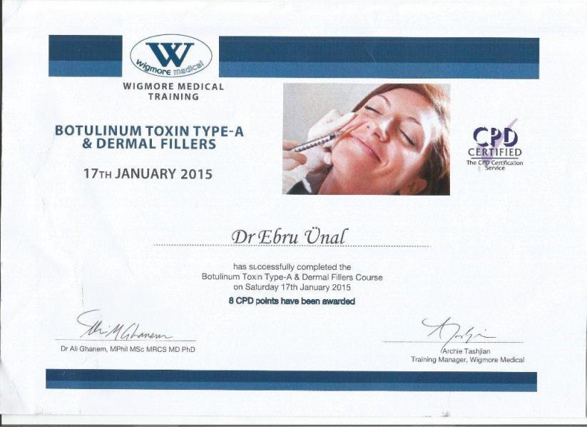 Wigmore Medical Training Botulinum Toxin