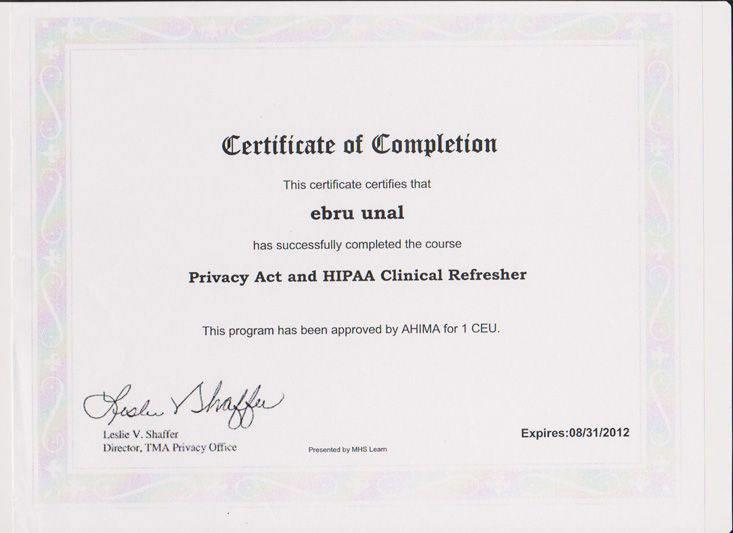 Privacy Act and HIPAA Clinical Refresher